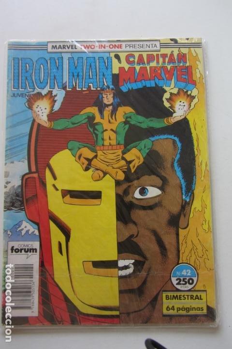 IRON MAN - CAPITÁN MARVEL Nº 42 VOL. 1 FORUM MUCHOS EN VENTA, MIRA TUS FALTAS ARX2 (Tebeos y Comics - Forum - Iron Man)