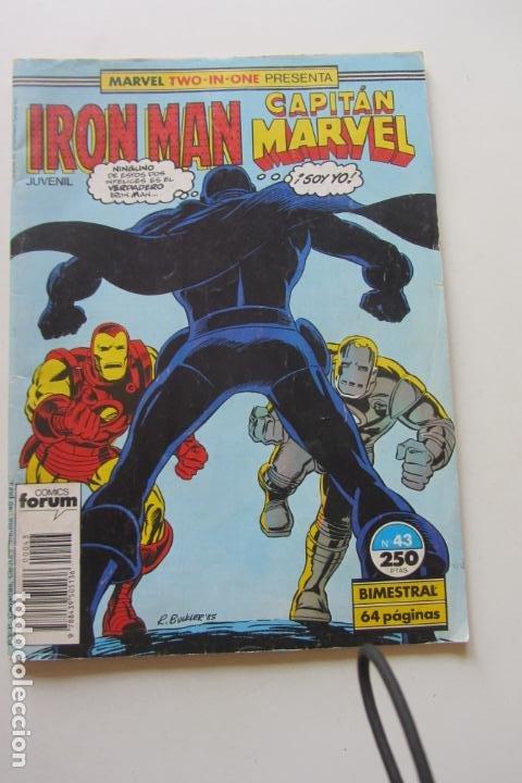 IRON MAN - CAPITÁN MARVEL Nº 43 VOL. 1 FORUM MUCHOS EN VENTA, MIRA TUS FALTAS ARX2 (Tebeos y Comics - Forum - Iron Man)