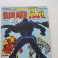 Cómics: IRON MAN - CAPITÁN MARVEL Nº 43 VOL. 1 FORUM MUCHOS EN VENTA, MIRA TUS FALTAS ARX2. Lote 222190655