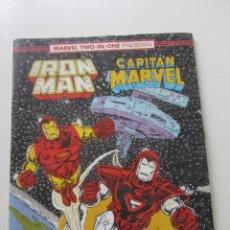Cómics: IRON MAN - CAPITÁN MARVEL Nº 53 VOL. 1 FORUM MUCHOS EN VENTA, MIRA TUS FALTAS ARX2. Lote 222190672