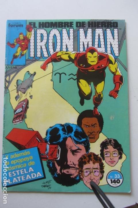 IRON MAN Nº 33 VOL. 1 FORUM MUCHOS EN VENTA, MIRA TUS FALTAS ARX2 (Tebeos y Comics - Forum - Iron Man)