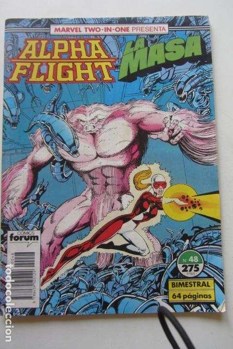 ALPHA FLIGHT LA MASA HULK VOL. 1 Nº 48 FORUM MUCHOS EN VENTA, MIRA TUS FALTAS ARX2 (Tebeos y Comics - Forum - Alpha Flight)