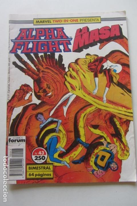 ALPHA FLIGHT LA MASA HULK VOL. 1 Nº 43 FORUM MUCHOS EN VENTA, MIRA TUS FALTAS ARX2 (Tebeos y Comics - Forum - Alpha Flight)