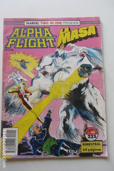 ALPHA FLIGHT LA MASA HULK VOL. 1 Nº 40 FORUM MUCHOS EN VENTA, MIRA TUS FALTAS ARX2 (Tebeos y Comics - Forum - Alpha Flight)