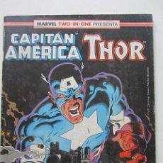 Cómics: CAPITAN AMERICA/ THOR V.1 Nº 62 FORUM MUCHOS EN VENTA, MIRA TUS FALTAS ARX2. Lote 222191273