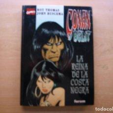 Cómics: CONAN Y BELIT - LA REINA DE LA COSTA NEGRA - TAPA DURA - FORUM - BUEN ESTADO. Lote 222214181