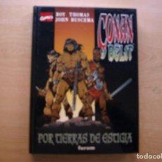 Cómics: CONAN T BELIT - . Nº 2 - POR TIERRAS DE ESTIGIA - TAPA DURA - EDICIONES FORUM - NUEVO. Lote 222214955