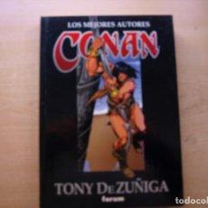 Cómics: LOS MEJORES AUTORES CONAN - TONY DE ZUÑIGA - TOMO 8 - TAPA DURA - FORUM - NUEVO. Lote 222215786