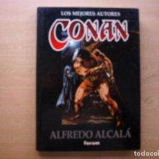 Cómics: LOS MEJORES AUTORES CONAN - ALFREDO ALCALA - TOMO 3 - TAPA DURA - FORUM - NUEVO. Lote 222216362