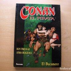 Cómics: CONAN EL PIRATA - EL BUCANERO - TOMO 4 - TAPA DURA - FORUM - NUEVO. Lote 222217593