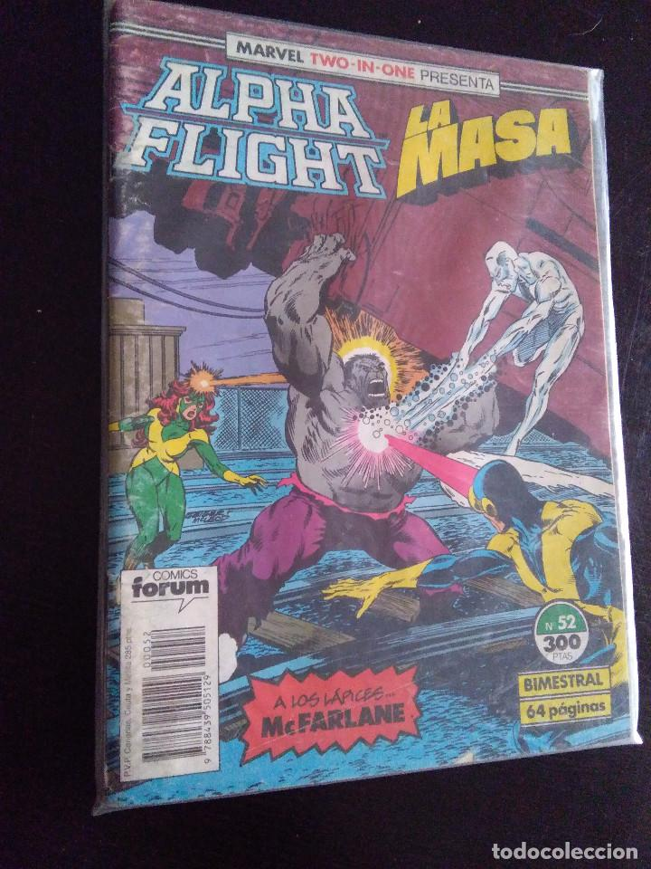 MARVEL TWO IN ONE-ALPHA FLIGHT/LA MASA 52-FORUM (Tebeos y Comics - Forum - Alpha Flight)