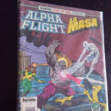 Cómics: MARVEL TWO IN ONE-ALPHA FLIGHT/LA MASA 52-FORUM. Lote 222225265