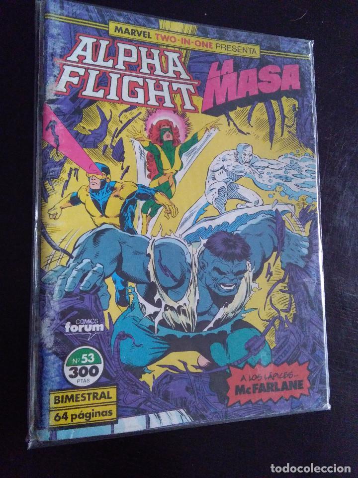MARVEL TWO IN ONE-ALPHA FLIGHT/LA MASA 53-FORUM (Tebeos y Comics - Forum - Alpha Flight)