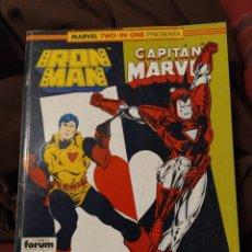 Cómics: RETAPADO MARVEL TWO IN ONE 50. Lote 222248816