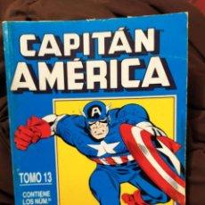 Cómics: RETAPADO CAPITÁN AMÉRICA TOMO 13 FORUM. Lote 222249432