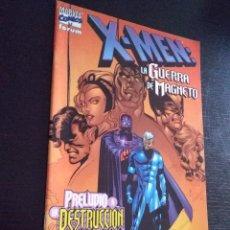 Cómics: X-MEN LA GUERRA DE MAGNETO-PRELUDIO A LA DESTRUCCIÓN. Lote 222262761