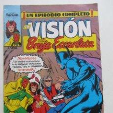 Cómics: LA VISIÓN Y LA BRUJA ESCARLATA - Nº 3 FORUM MUCHOS EN VENTA MIRA TUS FALTAS ARX4. Lote 222263090