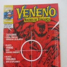 Cómics: VENENO NOCHES DE VENGANZA Nº 1 FORUM MUCHOS EN VENTA MIRA TUS FALTAS ARX4. Lote 222263413