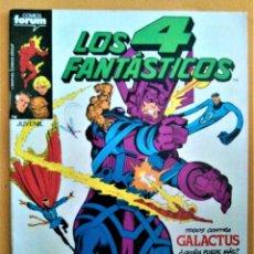 Cómics: LOS 4 FANTÁSTICOS - FORUM - Nº26 - TODOS CONTRA GALACTUS. Lote 222264212