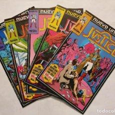 Cómics: JUSTICE VOL. # 1-2-3-4-5 (FORUM) - LOTE 5 NUMEROS - NUEVO UNIVERSO - 1988. Lote 222265640
