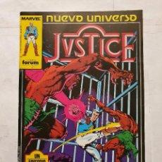 Cómics: JUSTICE VOL. # 2 (FORUM) - NUEVO UNIVERSO - 1988. Lote 222265891