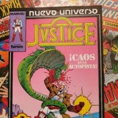 Cómics: JUSTICE VOL. # 3 (FORUM) - NUEVO UNIVERSO - 1988. Lote 222266012