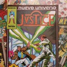 Cómics: JUSTICE VOL. # 4 (FORUM) - NUEVO UNIVERSO - 1988. Lote 222266143