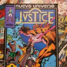 Cómics: JUSTICE VOL. # 5 (FORUM) - NUEVO UNIVERSO - 1988. Lote 222266218
