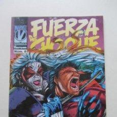 Cómics: FUERZA DE CHOQUE VOL. 2 Nº 8 FORUM MUCHOS EN VENTA MIRA TUS FALTAS ARX4. Lote 222266442
