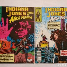 Cómics: INDIANA JONES EN BUSCA DEL ARCA PERDIDA # 11-12 (FORUM) ADAPTACION AL COMIC DE LA PELICULA - 1984. Lote 222273552