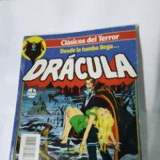 Cómics: CLÁSICOS DEL TERROR DRÁCULA DESDE LA TUMBA LLEGA... FORUM. Lote 222273576
