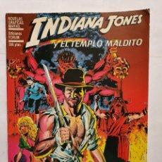 Cómics: INDIANA JONES Y EL TEMPLO MALDITO - NOVELAS GRAFICAS NUMERO ESPECIAL (FORUM) - 1984. Lote 222275123