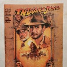 Cómics: INDIANA JONES - LA ULTIMA CRUZADA (FORUM) - NOVELA GRAFICA ESPECIAL CINECOMIC - 1989. Lote 222276128