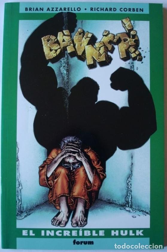 HULK - BANNER / AZZARELLO - RICHARD CORBEN (Tebeos y Comics - Forum - Hulk)