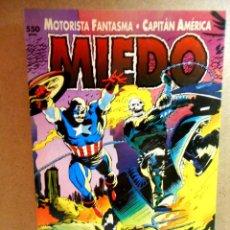 Cómics: MOTORISTA FANTASMA Y CAPITÁN AMÉRICA : MIEDO ( FORUM ) 1993. Lote 222315215