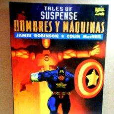 Cómics: TALES OF SUSPENSE : HOMBRES Y MÁQUINAS ( FORUM ) 1995. Lote 222315698
