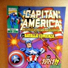 Cómics: CAPITÁN AMÉRICA CENTINELA DE LA LIBERTAD Nº 7 : CUANDO LOS HOMBRES LIBRES DEBEN ALZARSE ( FORUM ). Lote 222317928