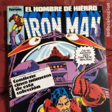 Cómics: RETAPADO IRON MAN N° 21 FORUM. Lote 222321545