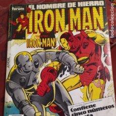 Cómics: RETAPADO IRON MAN N° 36 FORUM. Lote 222322072