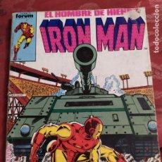 Cómics: RETAPADO IRON MAN N° 11 FORUM. Lote 222322833