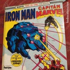 Cómics: RETAPADO IRON MAN CAPITAN MARVEL N° 44 FORUM. Lote 222323240