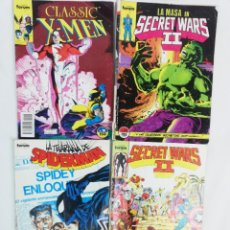 Cómics: LOTE DE COMICS FORUM-SPIDERMAN- X-MEN LA MASA SECRET WARS II. Lote 222332006