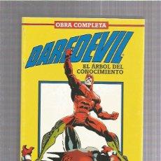 Cómics: DAREDEVIL EL ARBOL CONOCIMIENTO OBRA COMPLETA. Lote 222366991