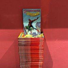 Cómics: SPIDERMAN,BIBLIOTECA MARVEL,COMPLETA 47 TOMOS,FORUM / PANINI. SOLO FALTA EL NÚMERO 7 DE 47.VER FOTOS. Lote 222384703