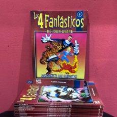 Cómics: COLECCIONABLE LOS 4 FANTÁSTICOS DE JOHN BYRNE. COMPLETA, 23 NÚMEROS . SOLO FALTAN 2 NÚMEROS PARA 25. Lote 222386305