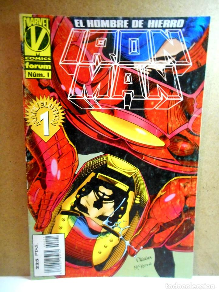 IRON MAN VOL 3 Nº 1 ( FORUM ) 1996 (Tebeos y Comics - Forum - Iron Man)