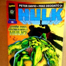 Cómics: HULK VOL 2 Nº 19 : UNA LÍNEA EN LA ARENA ( FORUM ) 1998. Lote 222404071