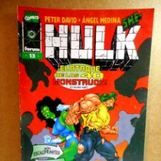 Cómics: HULK Nº 13 : SESIONES PRIVADAS ( FORUM ) 1997. Lote 222404126
