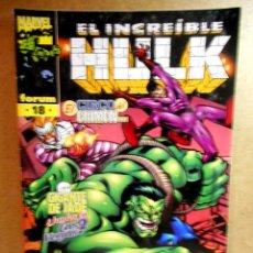 Cómics: HULK VOL 3 Nº 18 : GENTE DE CIRCO ( FORUM ) 1999. Lote 222404177