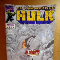 Cómics: HULK VOL 3 Nº 11 : PÁNICO EN LA UNIVERSIDAD ( FORUM ) 1999. Lote 222404203